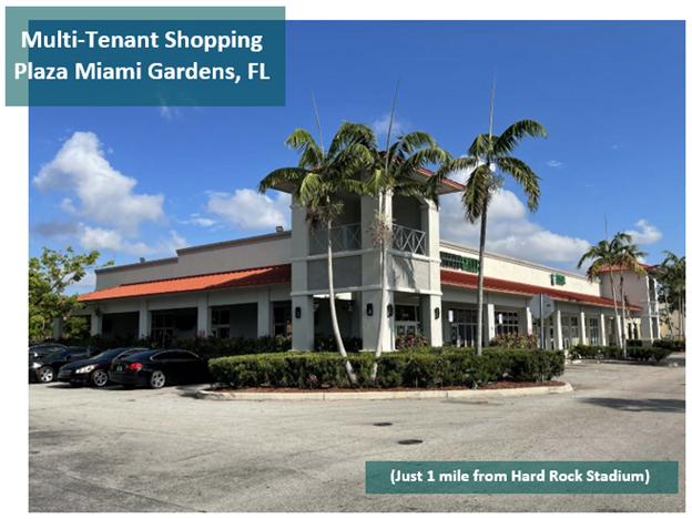 Multi-Tenant Shopping Plaza Miami Gardens, FL