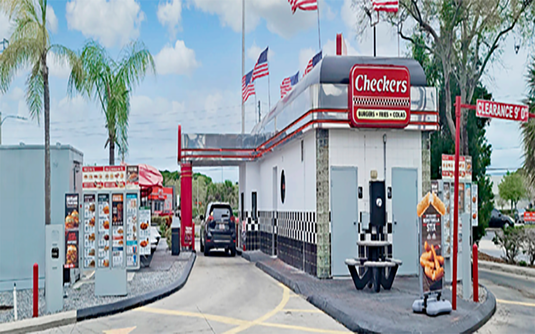 Dual drive-thru Checkers (NNN) Port Richey, Florida Corporate